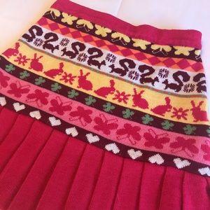 Sweet kids Spring pleated skirt